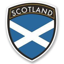 2 X Escocia Pegatina de vinilo Laptop Equipaje de Viaje #4600