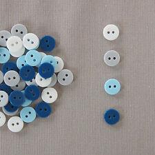 Jaune Lot de 10 Boutons Etoile à 2 trous de 17 mm