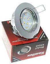 Luminaire encastré au plafond Lisa CHROME incl. 230V GU10 MONTURE 3W=30W