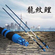 3.6m-7.2m fishing rod Carbon Fibre long Telescopic fishing pole