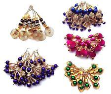 Dangles Tassel Latkan Saree Blouse Dupatta Dress Suit Stitch Asian Indian Blouse