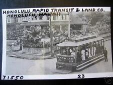 Honolulu,Hi~Honolulu Transit & Land Co.~Trolley # 23