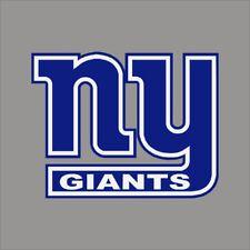 New York Giants #10 NFL Team Logo Vinyl Decal Sticker Car Window Wall Cornhole