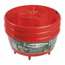 Cream//Red//Green #33R652 Set of 3 Christmas Holiday Splendor Iron Planters