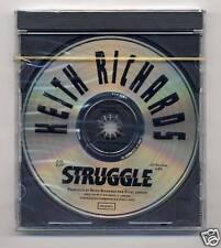 Rolling Stones Keith Richards STRUGGLE Rare CD Mint/Sealed Promo!
