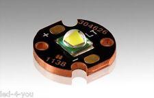 LED CREE XM-L U3 STAR IN RAME 10W 1100 LUMEN EFFICIENTE 110L/W - NO LUXEON SEOUL