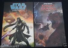SDCC Comic Con 2012 Handout Star Wars Dawn of the Jedi / Knight Errant Poster