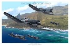 """Pirates of the Pacific"" Mark Karvon VF-17 Print"