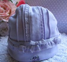 Carter's ~ Plum Cute ~ Baby Girl Cotton Bonnet ~Hat ~ Beanie