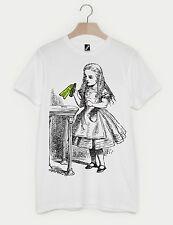 LOTTO 1 Alice nel paese delle meraviglie 150th ANNIVERSARIO DRINK ME BOTTIGLIA Unisex T-shirt