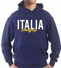 Felpa Cappuccio KJ1660 Italia Rugby Sei Nazioni Maglia Nazionale Terzo Tempo
