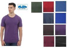 t-shirt maglietta uomo girocollo Awdis effetto vintage cotone 80% manica corta