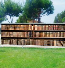 Brise vue déco personnalisé Bibliothèque réf 3664