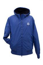 Giacca da uomo blu royal North Sails denim zip con cappuccio casual polsino