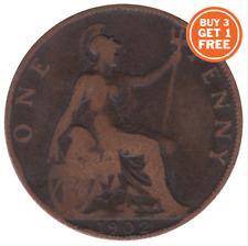 1902 monedas de 1910 centavos De Eduardo Vii Penny elige las fechas compre 3 lleve 1 Gratis!!!