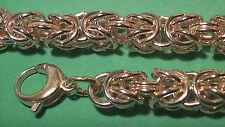 Bracciale REALE SU MISURA TONDO 9 mm larghezza oro-doppio timbrato catena 50cm