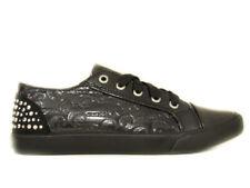 Guess Fantasy nero scarpe con i lacci  bambina con strass baby shoes