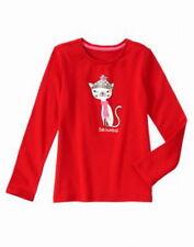 Gymboree holiday shop Bah humbug kitty top size 7 8 10 12