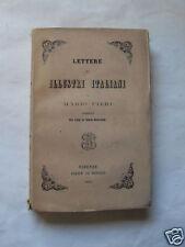 LETTERE DI ILLUSTRI ITALIANI A MARIO PIERI 1863