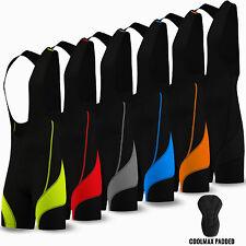 Ciclismo Bib Shorts Collant CICLO BICICLETTA Coolmax Anti-Bac Imbottito Da Uomo Tutte Le Taglie