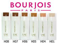 Bourjois UNE Healthy Glow Enhancer Liquid Foundation 30ml Various