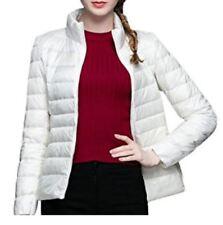 mujer Real Chaqueta de plumas ultra fácil entretiempo Vestido Primavera invierno