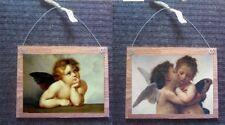 💗 Cherubs Pictures 5x7 Baby Angels Wall Hangings Cherub's Plaques