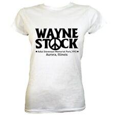 T-shirt Wayne Stock Women's White