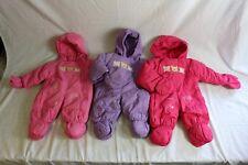 Baby Schneeanzug Schneeoverall Winteranzug Overall Anzug Warm Neu versch Farben