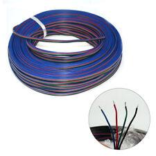 4Pin 5050 3528 Tira de Luz LED RGB Cable De Extensión Adaptador De Conector Cable 22 AWG