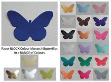 Mariposas (Monarch) - Bloque De Color Papel Punzones Multi Listado! 30 piezas