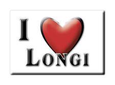 CALAMITA SICILIA ITALIA FRIDGE MAGNET MAGNETE SOUVENIR I LOVE LONGI (ME)