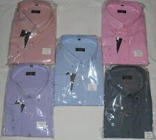 NUOVA Linea Uomo Kingsize Fitzgerald L/Camicie Manica 2xl.3xl,4xl,5xl,6xl,7xl