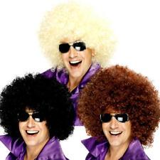 Giant Mega Enorme Grande Afro Parrucche Travestimento 1970s Adulti Uomo Donna Costume Wigs