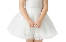 Flowergirl Hoopless Net Petticoat/Bridesmaid Underskirt/Child Pageant Skirt,W103