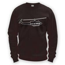 Get To The Choppah Sweater -x8 Colours- Movie Ugly Choppa Predator