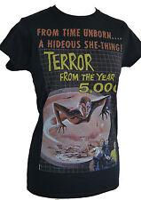 1958 sci fi time machine année 5000 la terreur b movie femmes ajusté t shirt s à 2XL