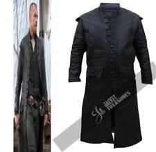 Pirate Captain Flint Black Sails S3 Leather Costume Coat