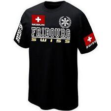 T-Shirt FRIBOURG SUISSE SWITZERLAND SWISS - Maillot ★★★★★★