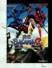 SENGOKU BASARA 2 Official Game Guide Book Japan PS2 CP