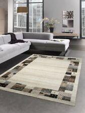 Tapis designer tapis moderne multi couleur brown beige crème turquoise