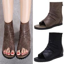 Womens flip flops Shoes Sandals Ankle boots Gladiator shoes Roman Ske15
