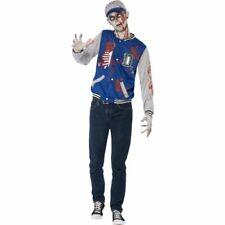 Smiffys Zombie Jock Costume Horror Halloween Fancy Dress