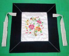 Flowery Mei Tai Baby Carrier 100% Handmade Art Front Back Sling Wrap Podaegi 102