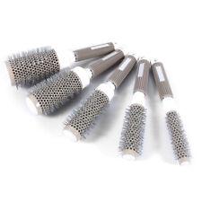 5 Sizes Hair Brush Ceramic Iron Round Comb Barber Dressing Salon Styling Barrel
