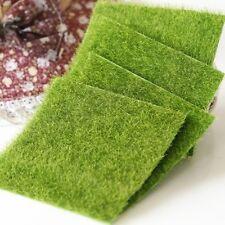 Artificial Green Grass Turf Landscape Lawn Aquarium Fish Tank Decorations