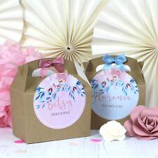 Caja de actividad de boda Personalizado | KRAFT Rose Prado | Mesa Favor Regalo