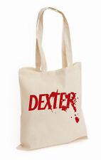 Dexter Blood Spatter TV Show COTTON TOTE DEXTER MORGAN UNISEX TOP (DEXTER,BAG)