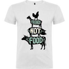 T-shirt Tshirt maglietta vegano vegan ok amici animali love animal cibo