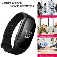Professional Audio Voice Recorder Voice Activated Digital Bracelet For Lecture